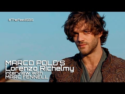 Marco Polo's Lorenzo Richelmy on filming orgy s The Feed