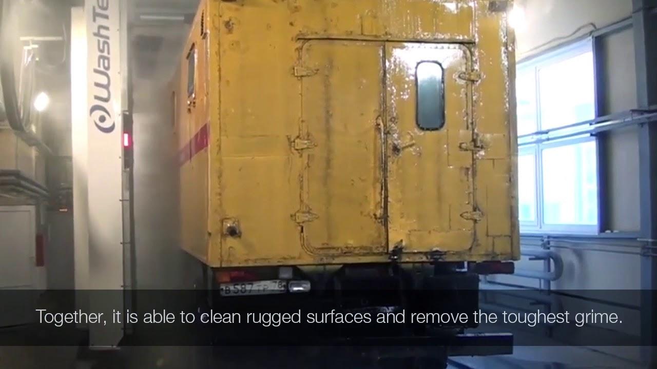 MaxiWash Vario Combi - High Pressure Truck Wash