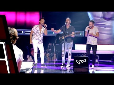 Adrián, Salva & Fran: 'La Saeta' - Audiciones a Ciegas - La Voz 2017