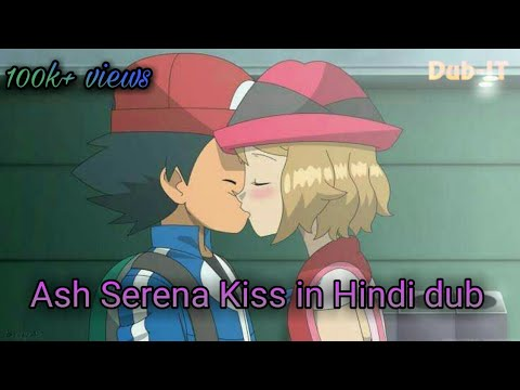Pokemon XYZ- Ash Serena Kiss   Hindi Fandubbed (REUPLOAD)
