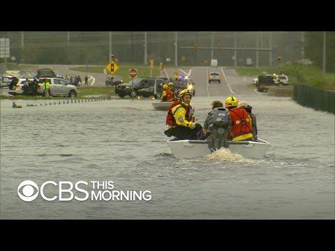 Hurricane Florence cuts off Wilmington, North Carolina
