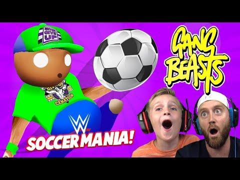 Soccer Mania! WRESTLERS In Gang Beasts 3! K-City GAMING
