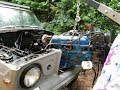 Jeep wagoneer ls swap pt 1,(removing the old engine)