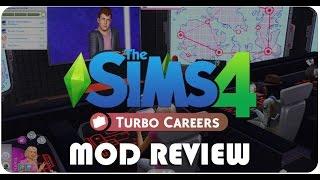The Sims 4 Turbo Career REVIEW (ROMANA)