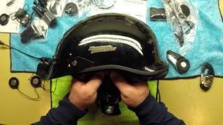 sena 20s open box half helmet install