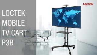 Loctek TV Cart P3B for 32''-65'' LCD LED Plasma Flat Panels Stand Mobile