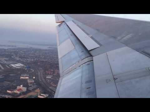 MD-88 takeoff LGA