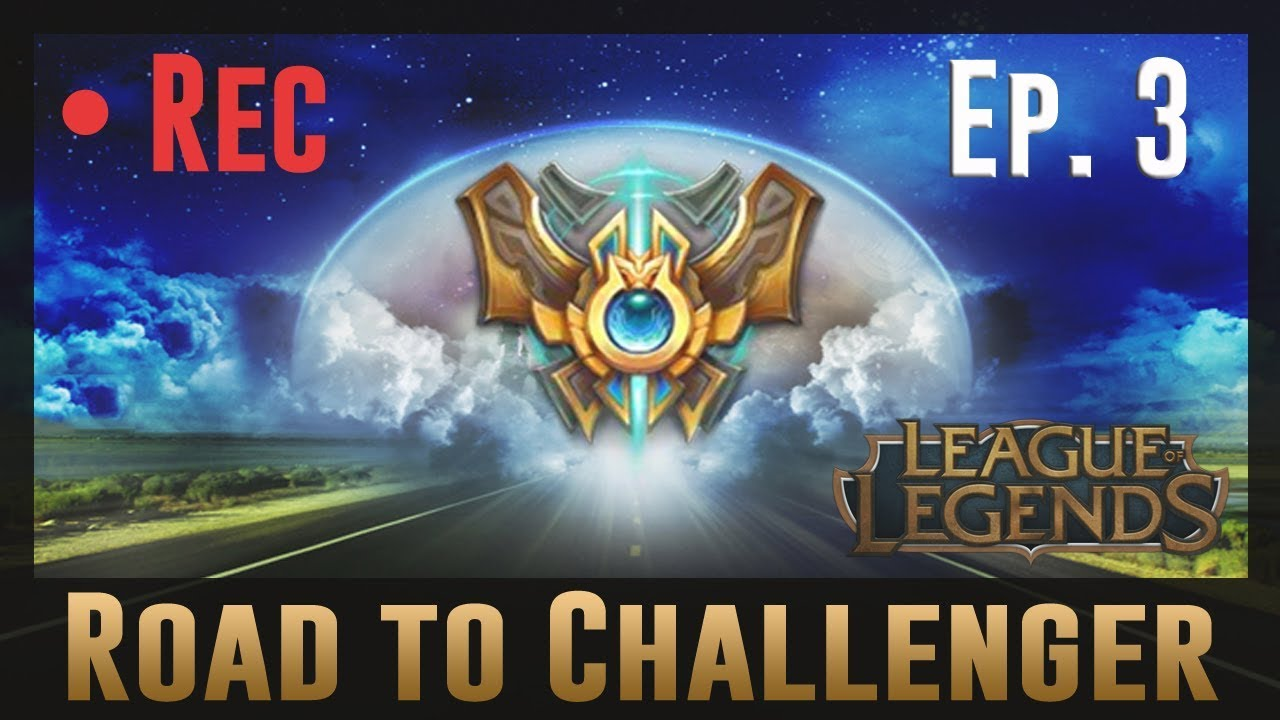 Coaching From a League of Legends Master Player #03 - Road to Challenger!