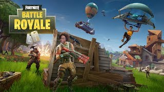 Fortnite Battle Royale Gameplay - First Time Playing Battle Royale