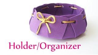 DIY crafts: HOLDER / ORGANIZER - Innova Crafts