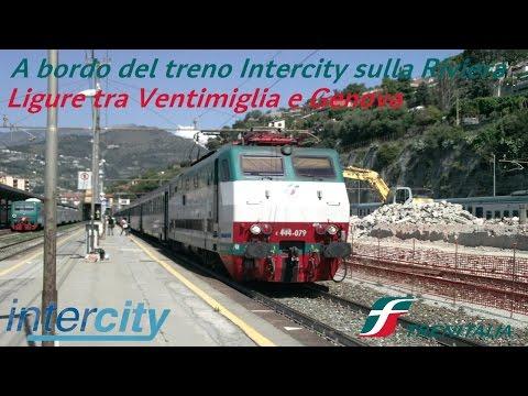 VT#9 - A bordo del treno Intercity sulla Riviera Ligure tra Ventimiglia e Genova