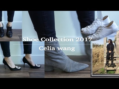 [Celia] 33 Pairs Shoe Collection 2017  | Gz/Chanel/Tods/AJ/Puma  | English
