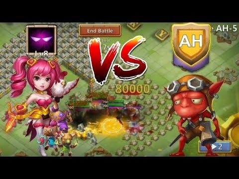 Unholy Pact | Dove Keeper | Vs | HBM AH | Goblin | Rowdy Rascals | Gameplay | Castle Clash
