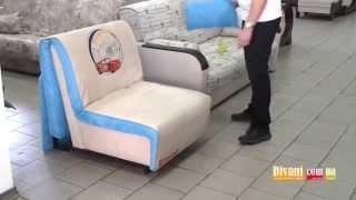 Кресло-кровать для ежедневного сна Новелти Элегант 03(Механизм: «аккордеон» Спальное место: 200×80 см Габариты: 85×115×87 см http://www.divani.com.ua/product/divani/novelty/9054.html., 2013-04-26T03:48:25.000Z)