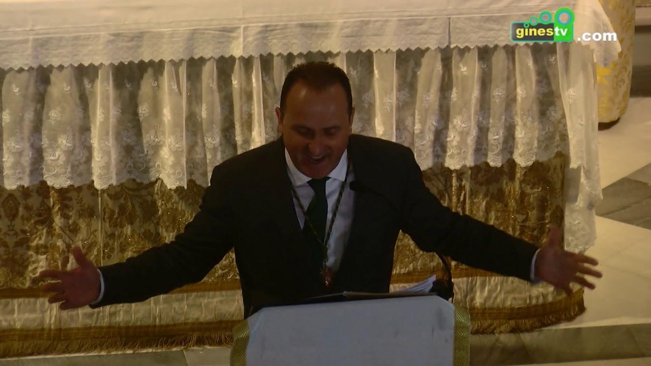 Manuel González Ayala pronunció un pregón del Rocío lleno de poesía, sentimiento y devoción