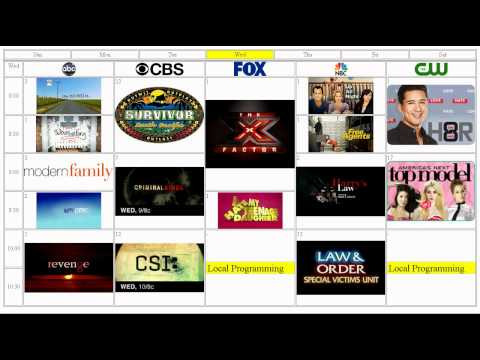 2011-12 United States network television schedule