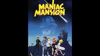 Maniac Mansion (1987) - DOS Gameplay Video (PC MS-DOS)