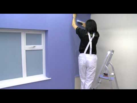 How To Wallpaper Around Corners - YouTube