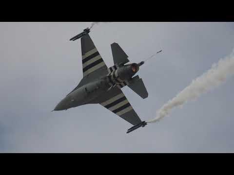 Athens Flying Week 2019 Belgian Air Force F-16 Demo Team