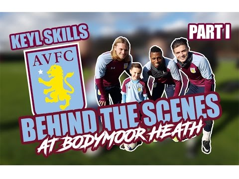 I FILMED WITH ASTON VILLA FIRST TEAM | BEHIND THE SCENES PART. I
