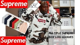 supreme nyc hyped box logo hoodies in hand week 16 fw16 review and fit episode 12