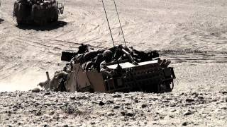 British Army JACKAL ARMOURED HMT-400 Pathfinders in Afghanistan