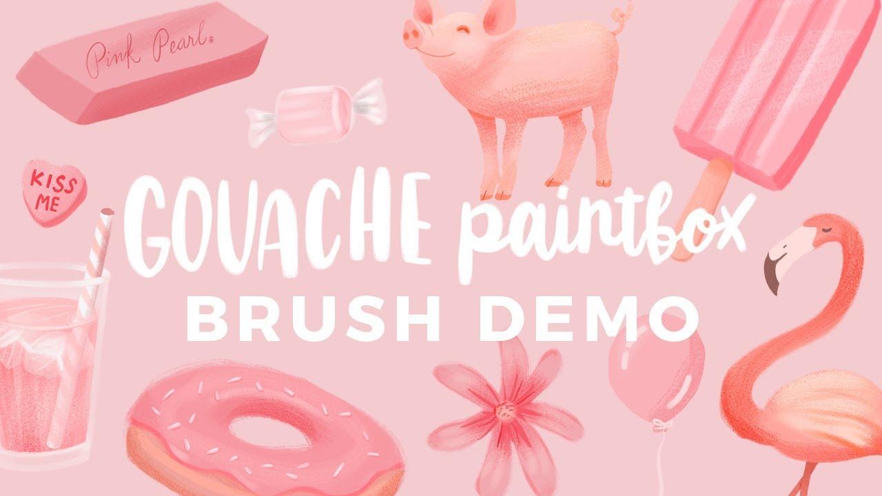 Gouache Paintbox :: Bardot Brush :: Awesome Brushes for Procreate