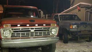 first drive 1965 ford crew cab diesel