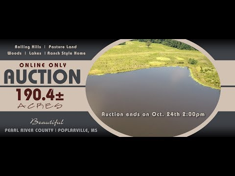 Pearl River County, MS Land Auction | BonnetteAuctions.com