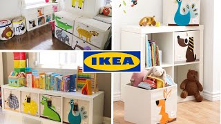 IKEA Toy Storage Hack: IKEA KALLAX + 3 Sprouts