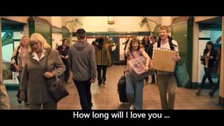 How long will I love you scene from About time