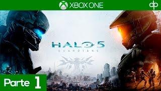 Halo 5 Guardians Mision 1 Español | Mision 1 Osiris + Mision 2 Equipo Azul | Campaña Completa 60fps