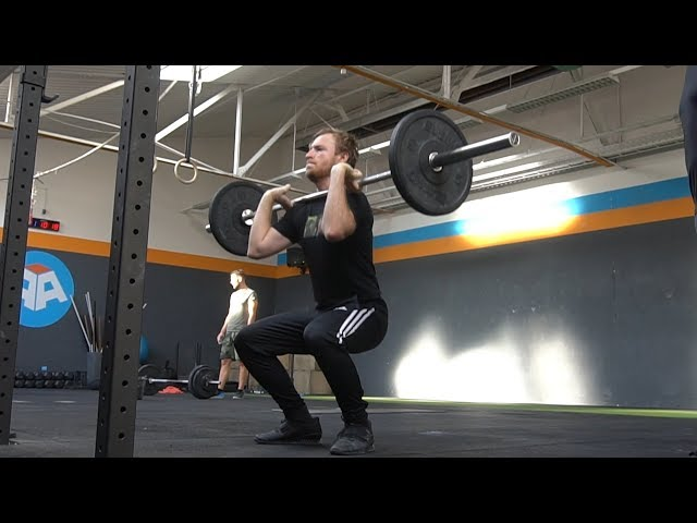 Front Squats   Maxim Daily Vlog [074]