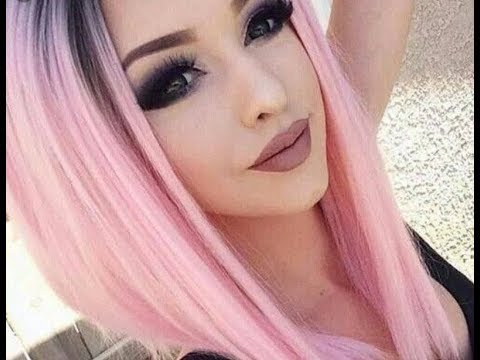 Cabello Color Rosa Fantasia Fantasy Pink Hair