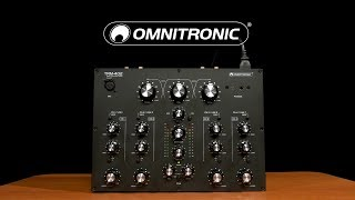 Omnitronic TRM-402 4 Channel Rotary Mixer   Gear4music