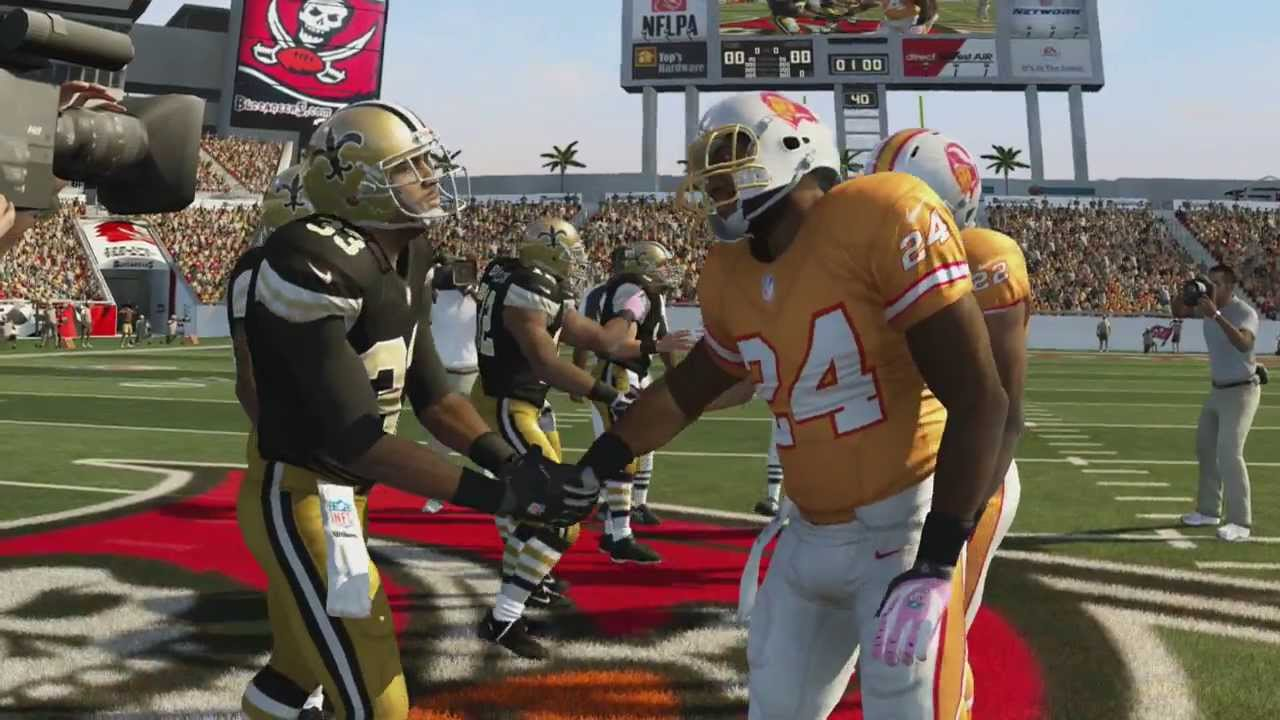 sports shoes 78191 21a2d MADDEN 25 PS4 SAINTS @ BUCS - NO THROWBACK 1960s, TB THROWBACK 1970s  ORANGE, 4:15, CLEAR