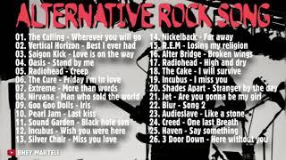 ALTERNATIVE ROCK SONG    LAGU BARAT LIST TERBAIK    COCOK BUAT SANTAI..