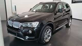 2015 BMW X3 xDrive20d xLine Interior Exterior In Depth | -[BMW.view]-