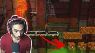 صناديق مستحيل تحصل عليها ! | crash bandicoot Part 8