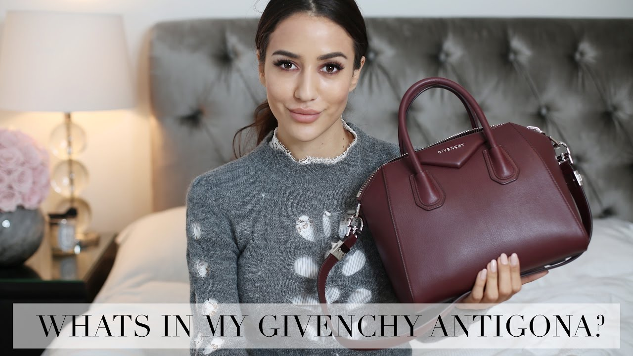 1de361caca Whats in my New Givenchy Bag