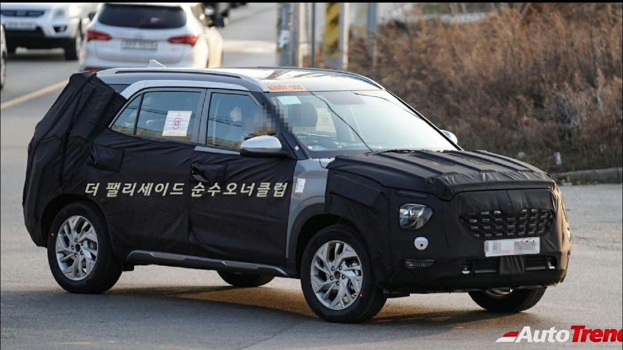 2021 Hyundai Creta 7 Seat SUV Spotted Testing - All You ...
