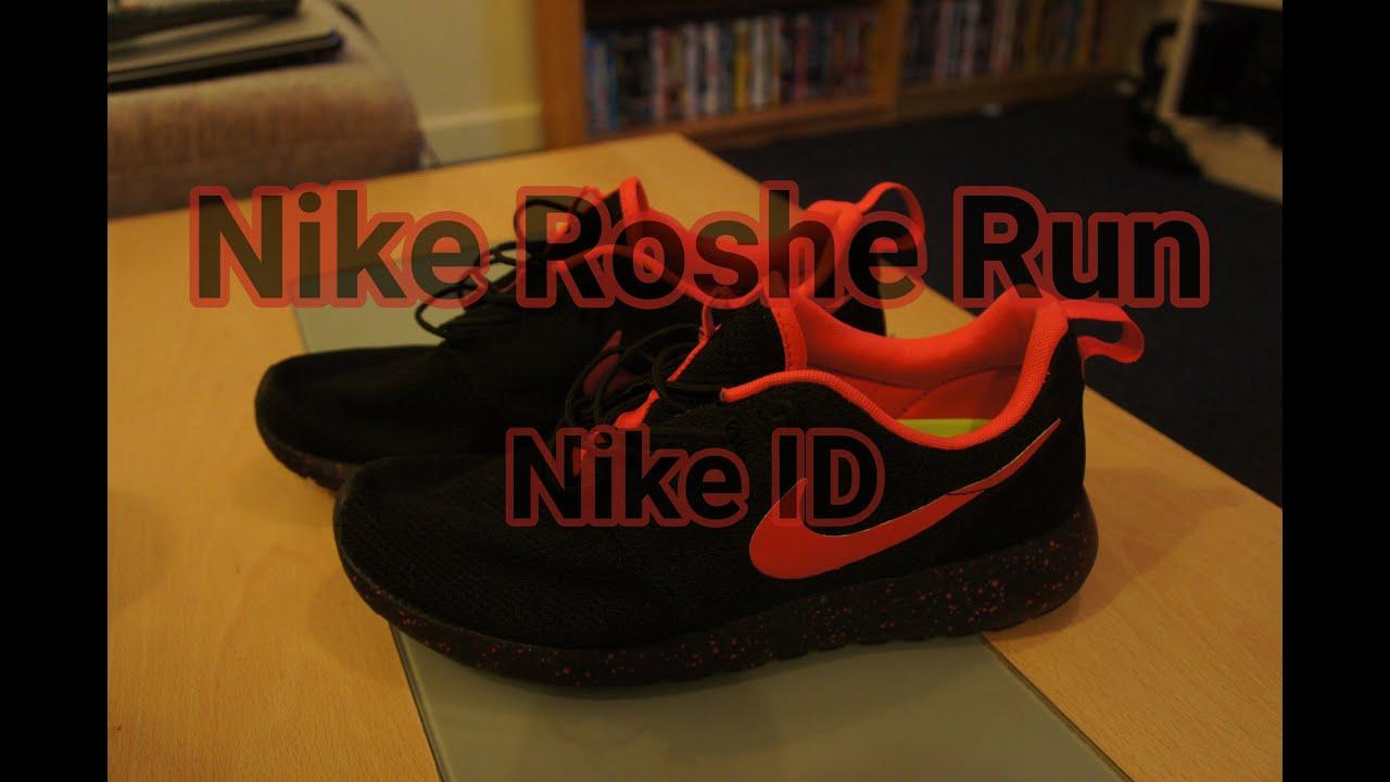 new styles 574b1 a710d NikeID   Roshe Run One Black Solar Red   Review   Chris s Kicks
