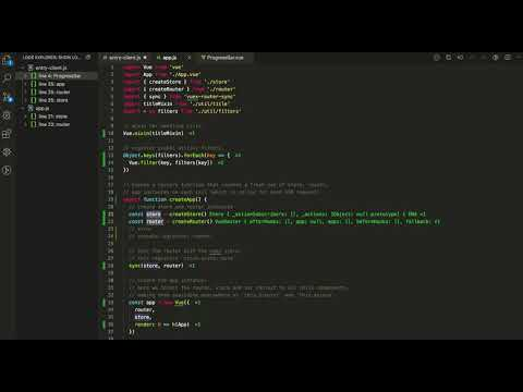 vscode javascript-repl logging in a Vue.js project thumbnail