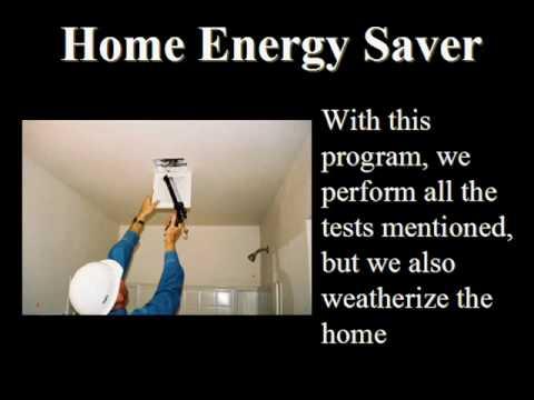Home Energy Audit Charlotte Indianapolis Cincinnati.wmv