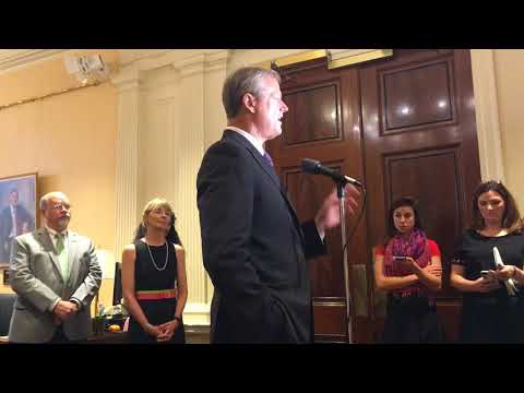 Mass. Gov. Charlie Baker announces ways of teaching social workers about opioid abuse