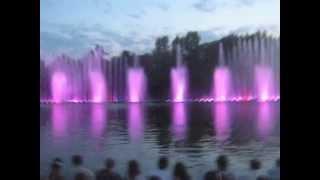 Фонтаны в Виннице 2 ( Fountains in the Vinnitsa 2)(танцующие фонтаны в Виннице видео 2., 2015-07-17T10:54:07.000Z)