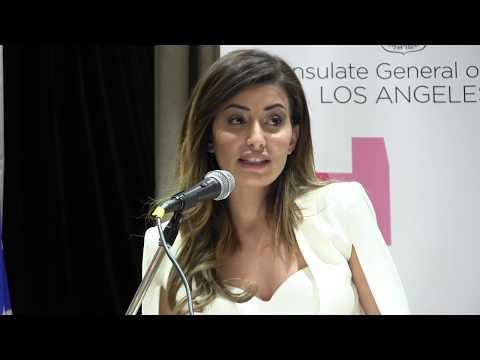 Miss Iraq, Sarah Idan, empathizes with Jewish refugees Nazi-assisted Iraq expelled