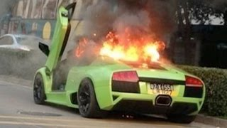 SUPER CAR CRASHES - People are Stupid - Super Car Driver Idiots Compilation