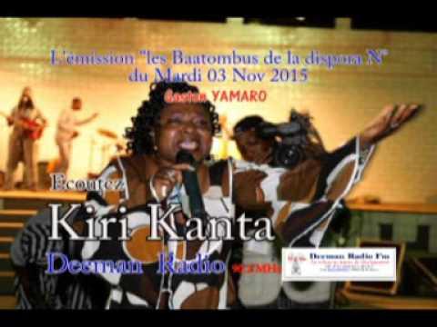 "Sur Deeman Radio, KIRI KANTA invitée de l'émission ""les baatombu de la diaspora"""