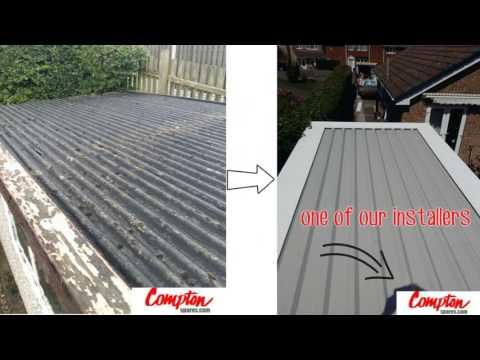 #garagerevamp-@comptonspares-replacement-garage-pent-flat-roof